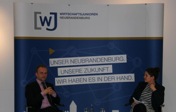 Jung-Unternehmer im Gespräch mit dem Oberbürgermeister » Wirtschaftsjunioren Neubrandenburg