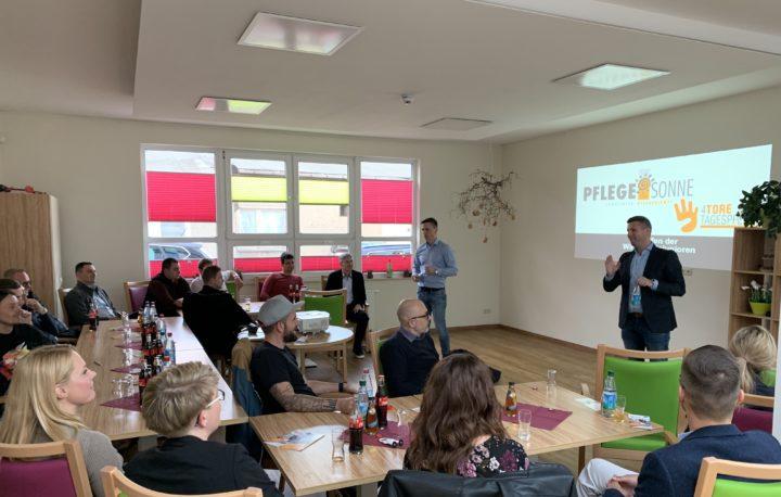 Ein Besuch bei der PflegeSonne in Neubrandenburg » Wirtschaftsjunioren Neubrandenburg