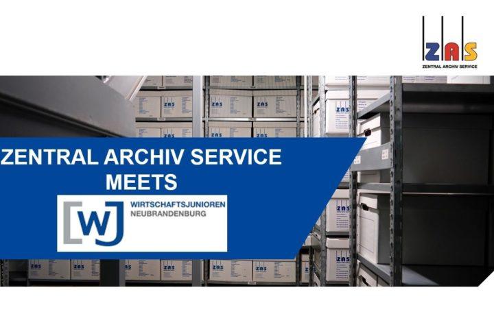 Besuch der Z.A.S. Zentral Archiv Service GmbH » Wirtschaftsjunioren Neubrandenburg